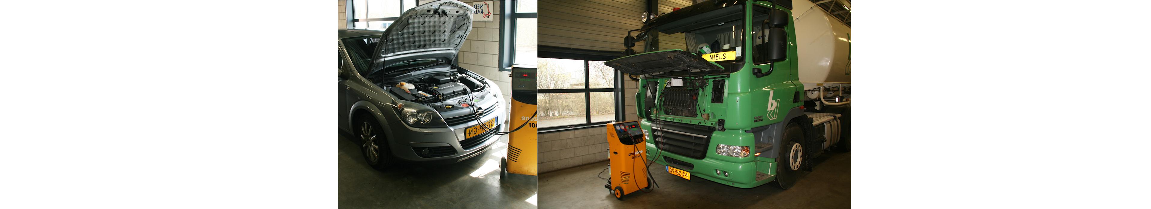 Airco service vullen auto vrachtwagen www.carcoolsystems.nl