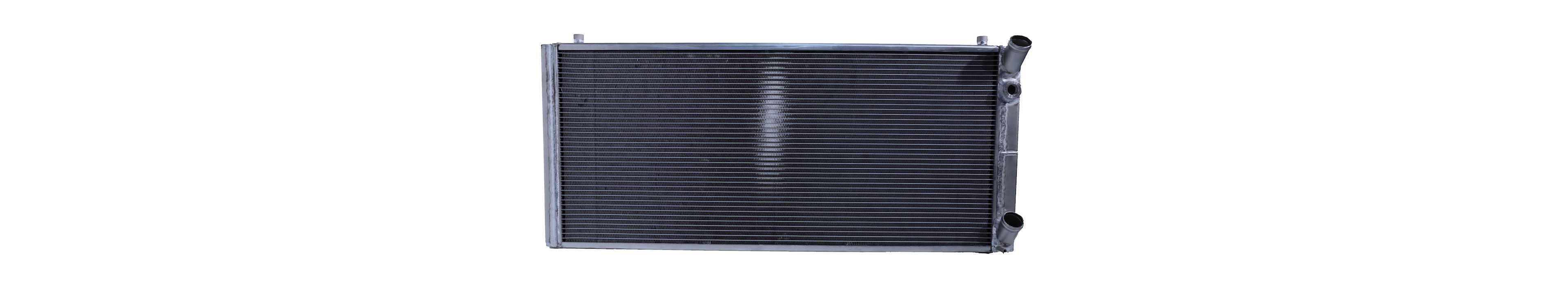 Radiateur op maat gemaakt in aluminium