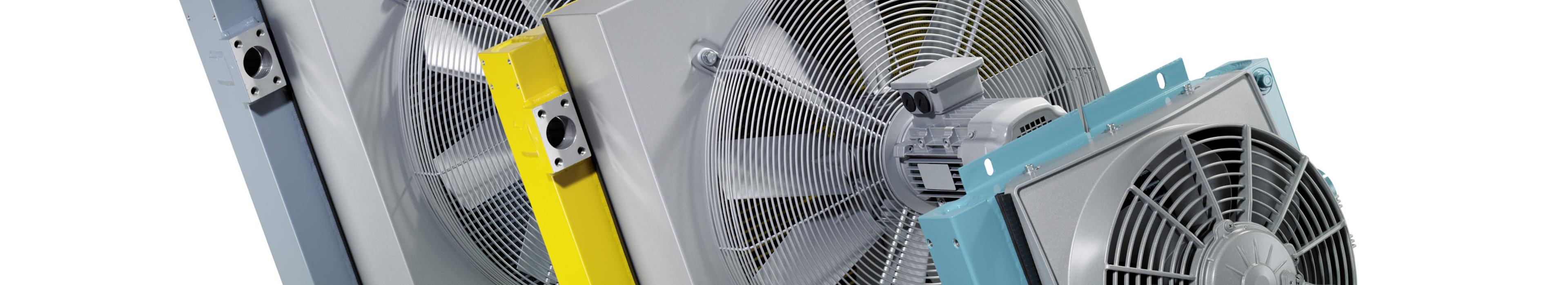 Oliekoeler AKG-Line 12v 24v hydraulisch 400v fan