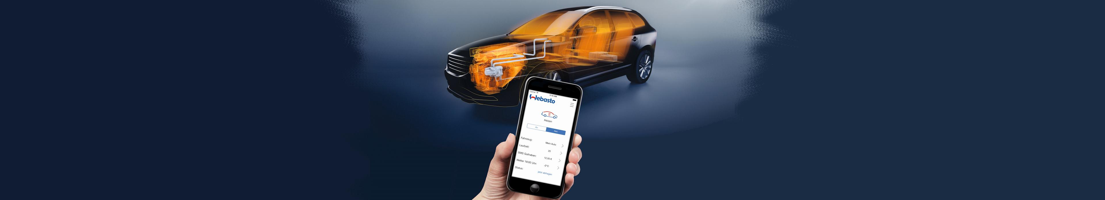 Webasto standkachel aansturen door app op uw telefoon www.carcoolsystems.nl