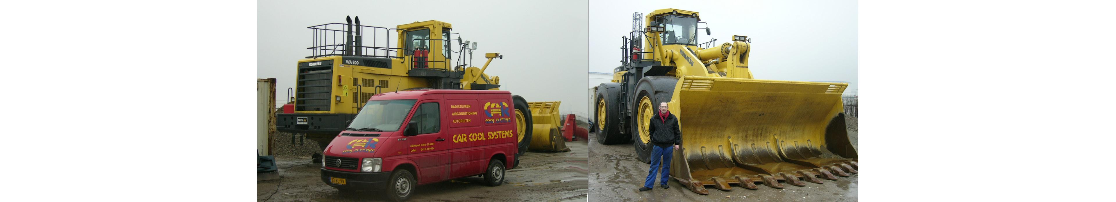 Airco service, vullen en onderhoud op locatie landbouw machine www.carcoolsystems.nl