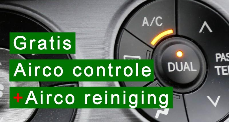 gratis airco controle + airco reiniging